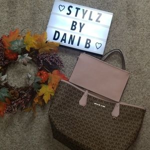 Michael Kors Candy Tote Set
